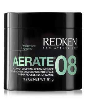Aerate 08 All-Over Bodifying Cream-Mousse 3.2oz