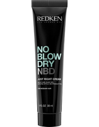 No Blow Dry Just Right Cream for Medium Hair 1.oz